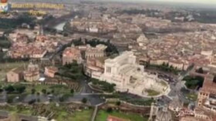 Roma, camorra: sequestrati bar e ristoranti