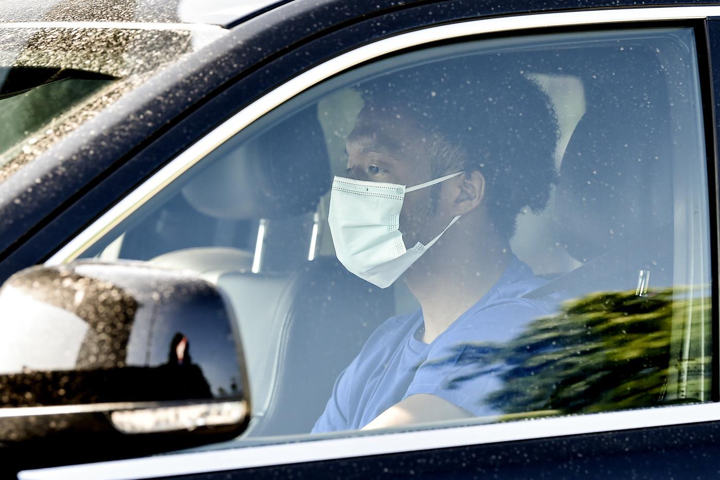 Serie A: Coronavirus, La Juventus arriva alla Continassa