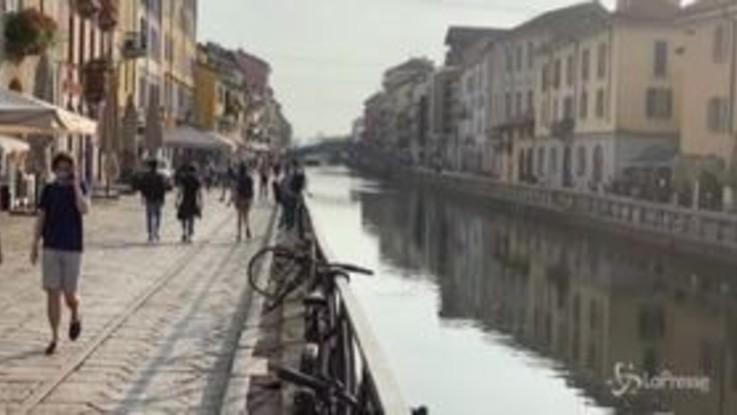 Fase 2, a Milano è di nuovo l'ora dell'aperitivo