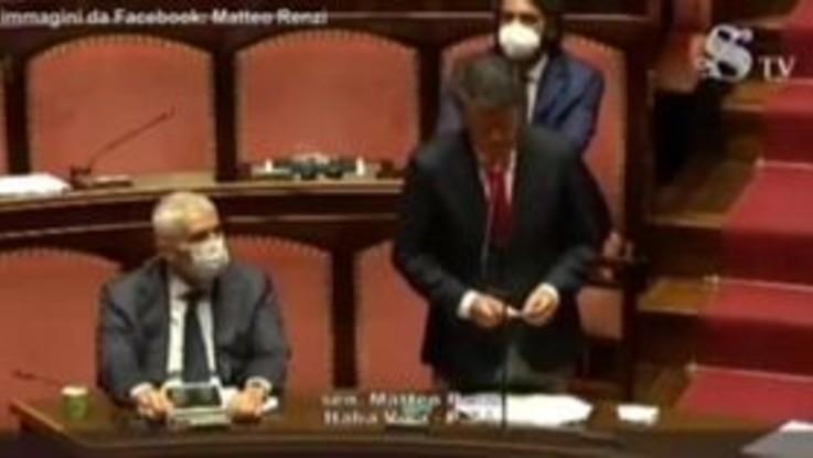 """Renzi: """"Voteremo contro le mozioni di sfiducia a Bonafede"""""""