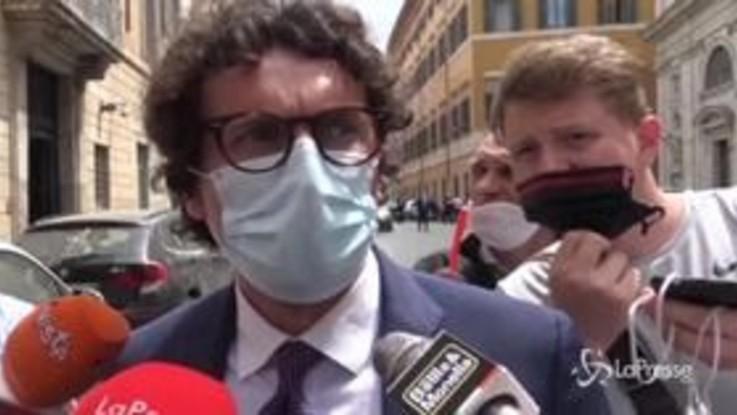 """Sfiducia a Bonafede, Toninelli: """"Mozione ridicola"""""""