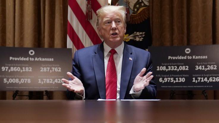Picco di morti in Svezia. Trump: Primato Usa nei contagi è un onore