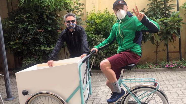 A Torino arrivano i 'piatti volanti' di beneficienza