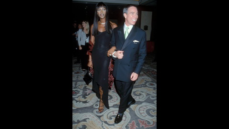 Naomi Campbell con Tommy Hillfiger ©