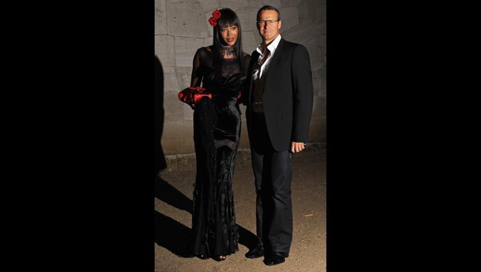Naomi Campbell con Vladimir Doronin ©