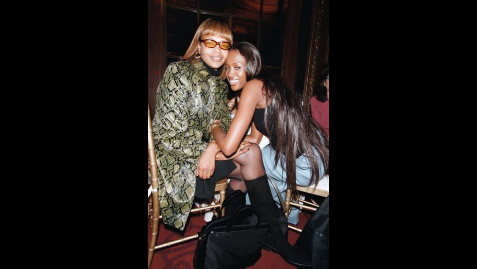 Naomi Campbell con la mamma Valerie ©