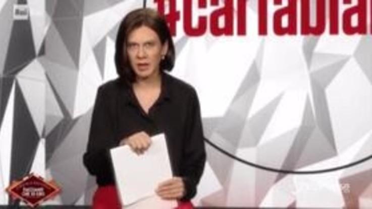 Virginia Raffaele diventa Bianca Berlinguer e se la prende con tutti