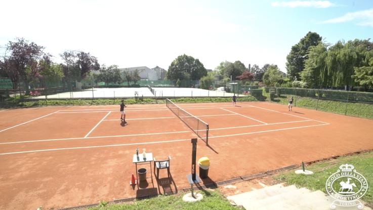 Il ritorno alla vita dello Sporting, storico circolo di tennis a Torino