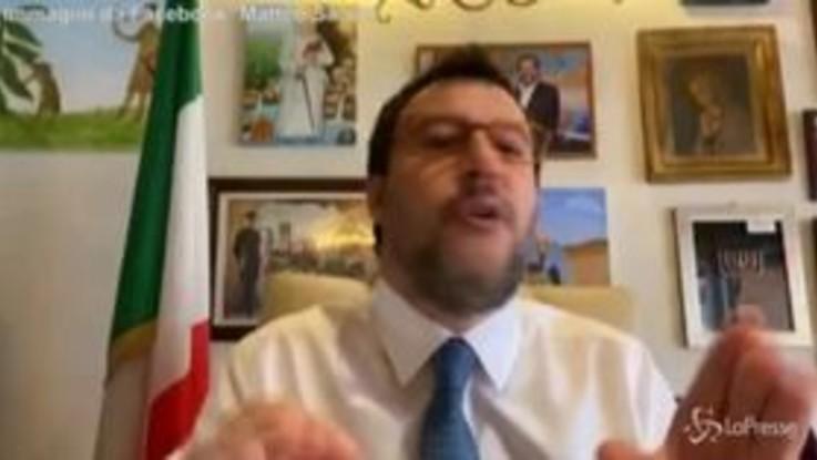 """Open Arms, Salvini: """"Infranta qualunque regola, giunta mi ha dato ragione"""""""