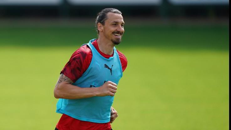 Milan lesione soleo Ibrahimovic tendine Achille integro