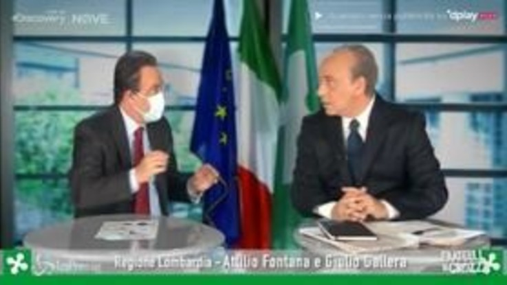 """Crozza/Gallera difende Fontana: """"Attilio un signore, le donazioni si fanno ma non si dicono"""""""