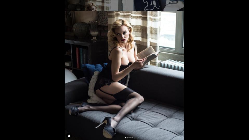 Justine Mattera (fonte Instagram) ©