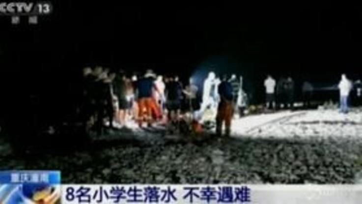 Cina, otto bambini muoiono annegati in un fiume