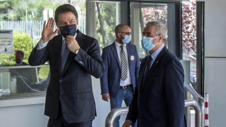 Conte alla Protezione Civile: L'Italia ha dato grande prova di sé