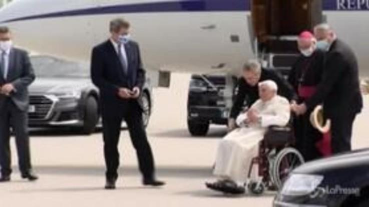 Germania, Benedetto XVI ritorna in Vaticano