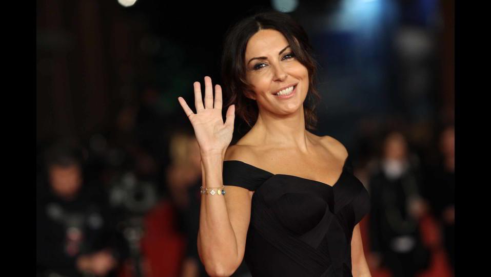 l'attrice Sabrina Ferilli al Festival del Cinema di Venezia ©
