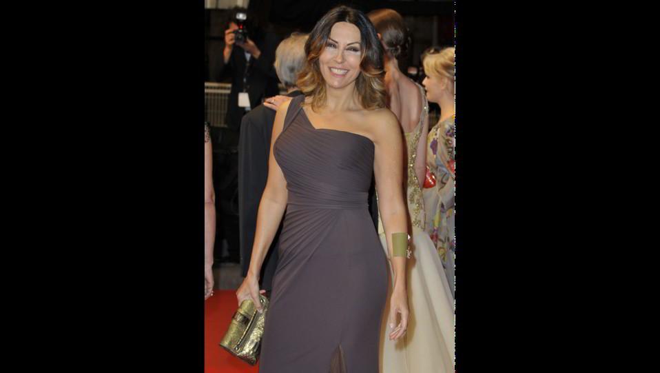 Sabrina Ferilli al Red carpet del film La grande bellezza ©