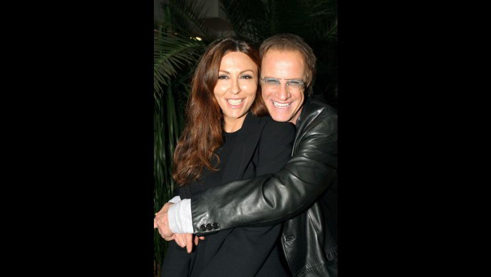 2004 - Sabrina Ferilli e Christopher Lambert durante la presentazione dello sceneggiato Dalida. ©