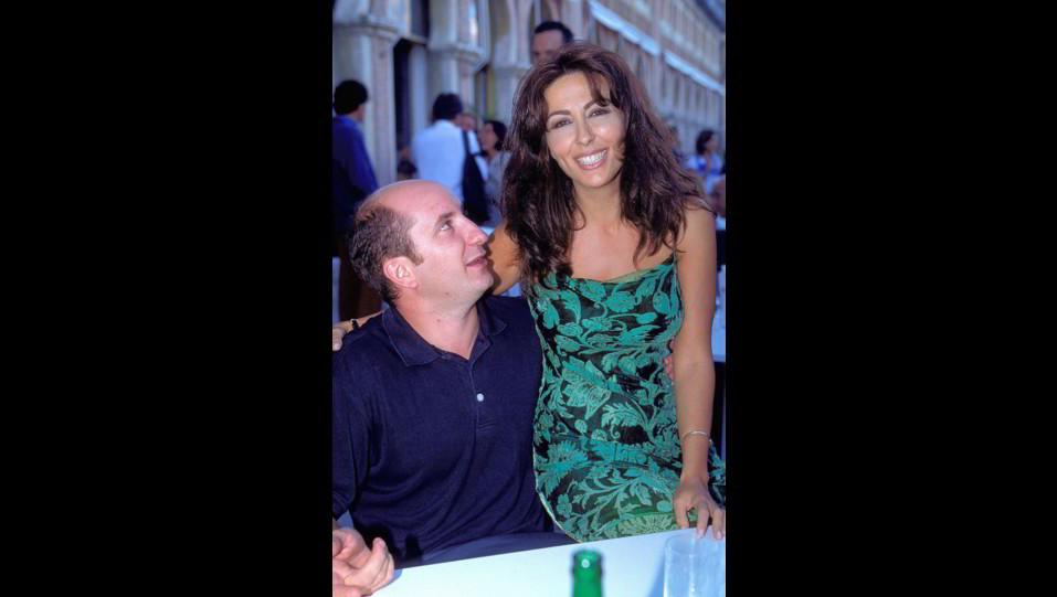 1998 - Sabrina Ferilli con Antonio Albanese al 55° Festival del Cinema di Venezia ©