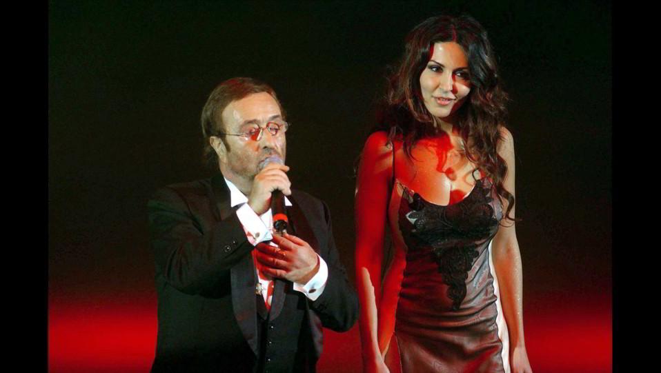 Sabrina Ferilli e Lucio Dalla conducono il nuovo show del sabato sera di RAI 1, La bella e la besthia ©