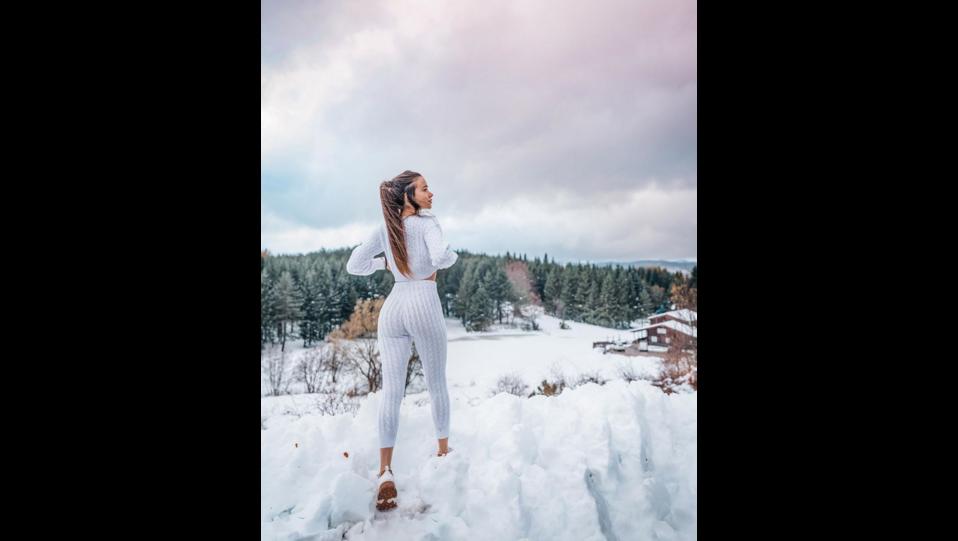 la modella Eleonora Bertoli (fonte Instagram) ©