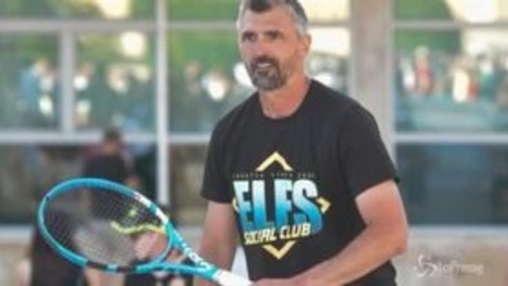 Tennis: positivo al Coronavirus anche Ivanisevic, coach di Djokovic