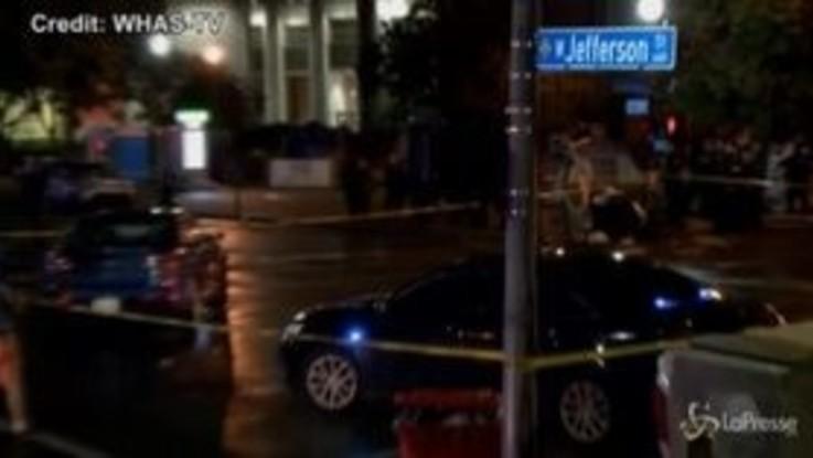 Usa, spari durante protesta a Louisville: un morto e un ferito
