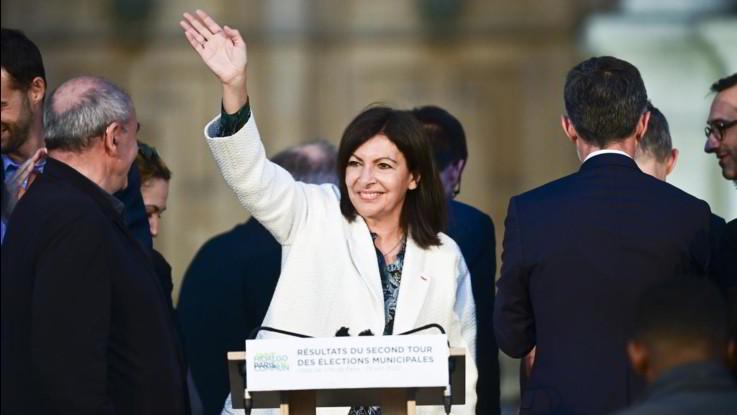 Anne Hidalgo, sindaco di Parigi
