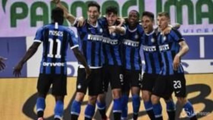 Inter vince in rimonta col Parma