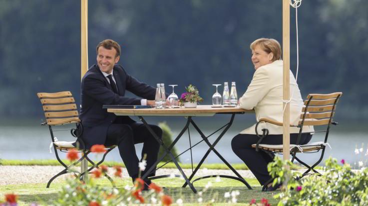 UE, Merkel e Macron accelerano su Recovery fund: ricerca di accordo entro luglio