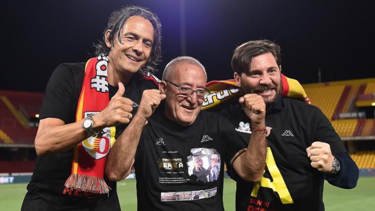 Benevento ritrova la Serie A: il capolavoro di Pippo Inzaghi