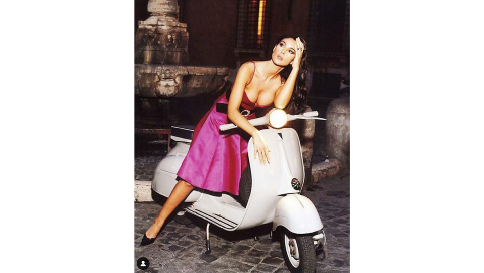 L'attrice Monica Bellucci (fonte Instagram) ©