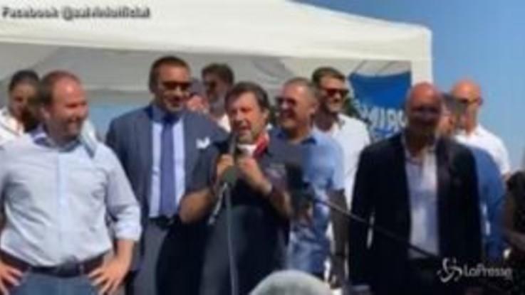 """Salvini: """"Stop agli immigrati irregolari a Castel Volturno"""""""