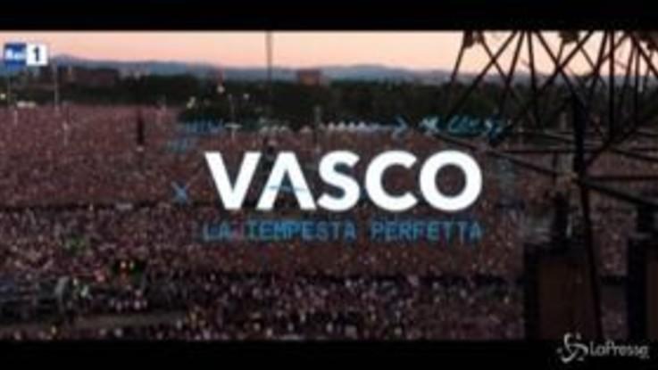 """Vasco in concerto, su Rai1 arriva la """"Tempesta Perfetta"""""""