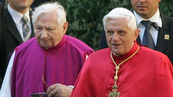 È morto Georg Ratzinger, il fratello del Papa emerito Benedetto XVI