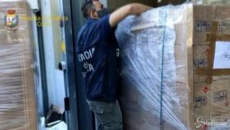Como, sequestrati oltre 31.500 litri di falso disinfettante