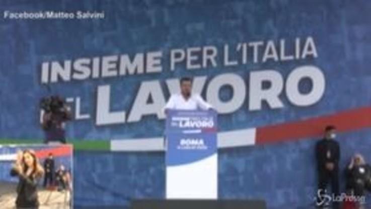 """Usa, Salvini fa gli auguri per il 4 luglio e dice: """"All lives matter"""""""