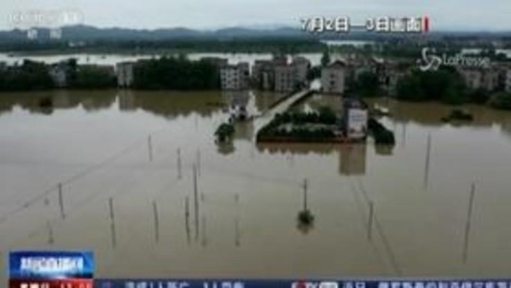 Cina, inondazioni nel sud del Paese