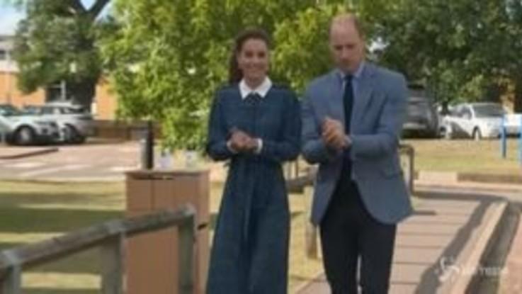 William e Kate, prima apparizione dal vivo dopo il lockdown