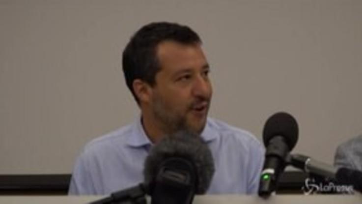 """Salvini: """"Io candidato sindaco di Milano? A fine carriera, prima torno al governo"""""""