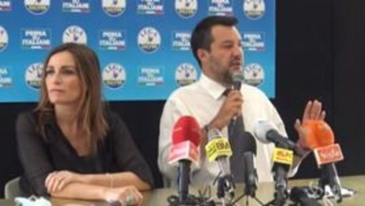"""Stadio della Roma, Salvini: """"Tifo perché si sblocchi, significa lavoro e futuro"""""""