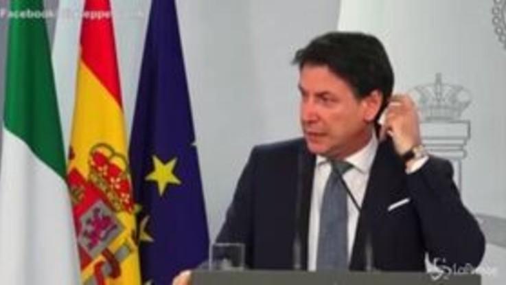 """Conte cita Nanni Moretti: """"Difficoltà a confronto con opposizioni"""""""