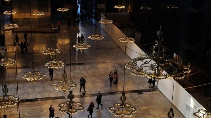 Istanbul, Santa Sofia tornerà moschea: via libera dal Consiglio di Stato