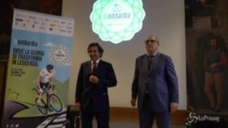 Il Lombardia 2020, il grande ciclismo torna il 15 agosto: partenza da Bergamo, arrivo a Como