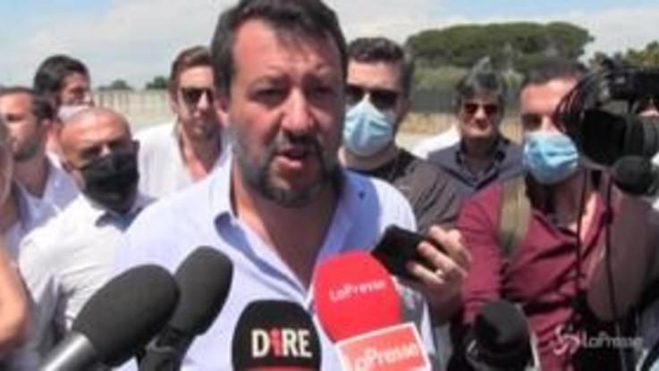 """Autostrade, Salvini: """"Operazione demenziale"""""""