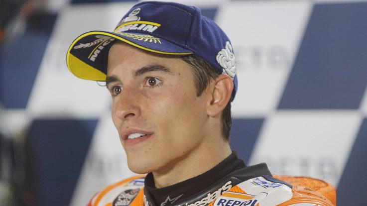 MotoGP, frattura all'omero destro per Marc Marquez