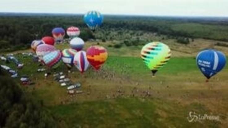 Coronavirus: in Russia tornano a volare le mongolfiere dopo il lockdown