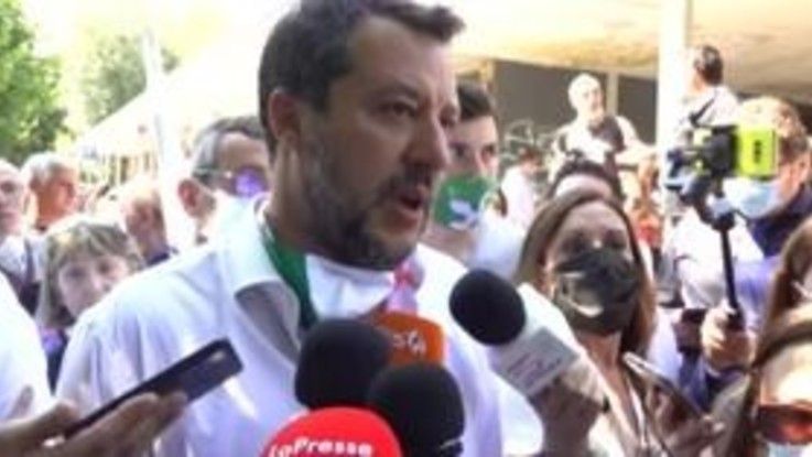 """Amministrative, Salvini: """"Sala usa Milano come trampolino per il governo nazionale"""""""