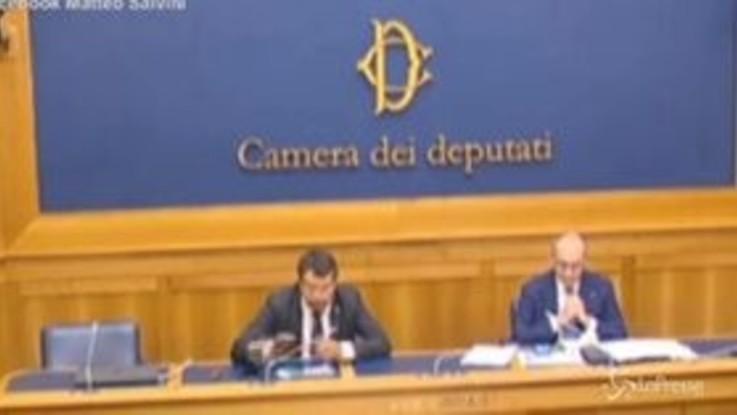 """Accordo Ue, Salvini: """"Forza Italia? Contenta che il destino dell'Italia sia in mano alla Commissione"""""""