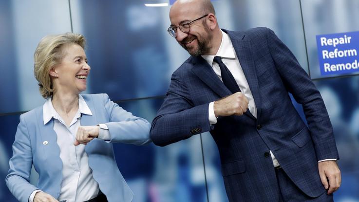 """Consiglio Ue, c'è l'accordo sul recovery Fund. Conte: """"L'Italia può ripartire"""""""